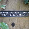 Love My Dogs Cast Iron Wall Plaque