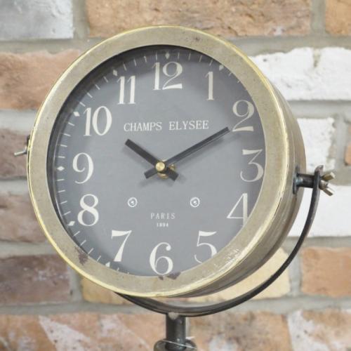 Searchlight Tripod Clock