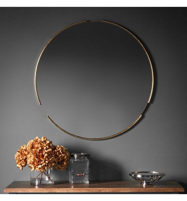 Fitzroy Mirror Gold