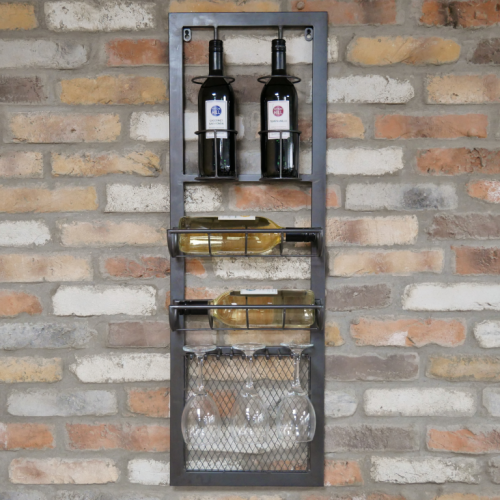 Industrial Wall Wine Station