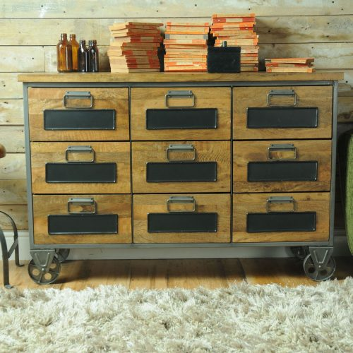 RE-Engineered 9Drawer Apothecary Chest