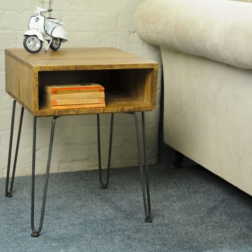 Retro Hairpin Side Table