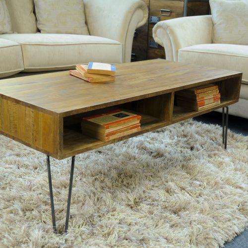 Retro Hairpin Coffee Table