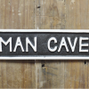 Man Cave Cast Iron Wall Sign