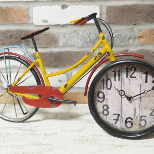 Retro Bike Clock