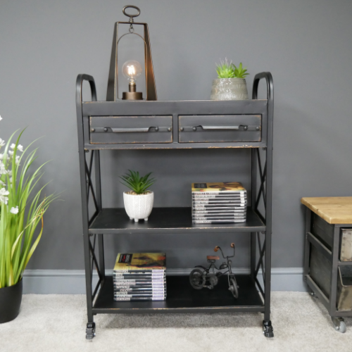 Nelson Industrial Shelving Display Unit