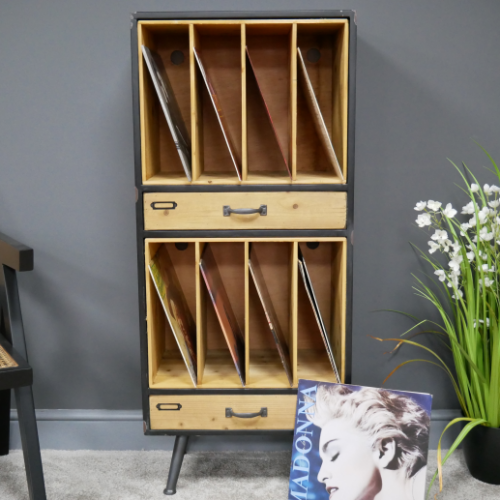 Retro Industrial Filing Cabinet