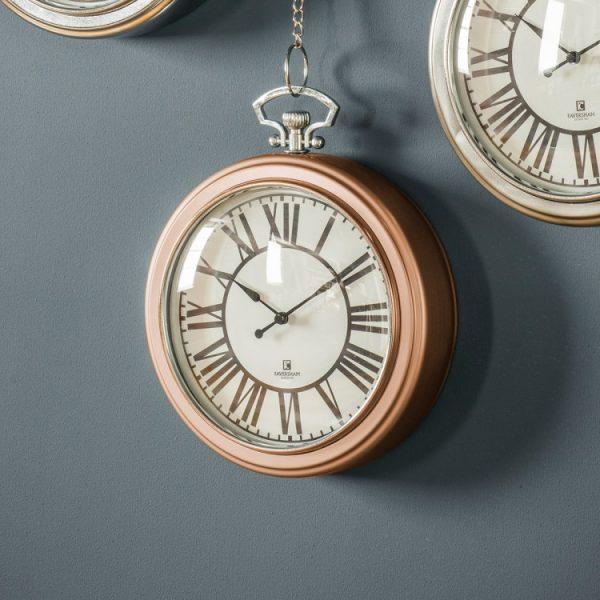Oxford Clock Copper