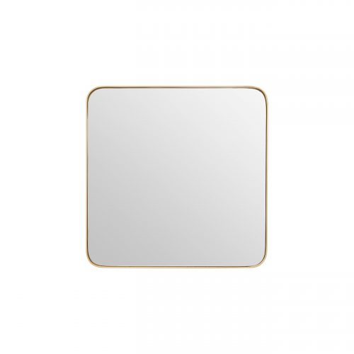 Small Square Wall Mirror