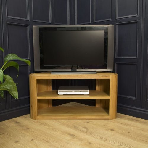 Lounge Oak Corner TV Unit