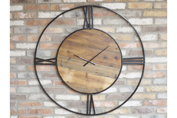 Sheffield Steel Wall Clock