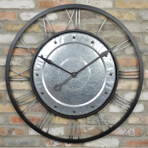 Bristol Metal Wall Clock