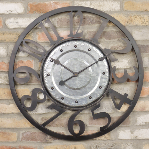 Corby Metal Wall Clock