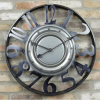 Oxford Metal Wall Clock