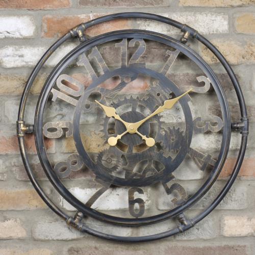 London Industrial Wall Clock