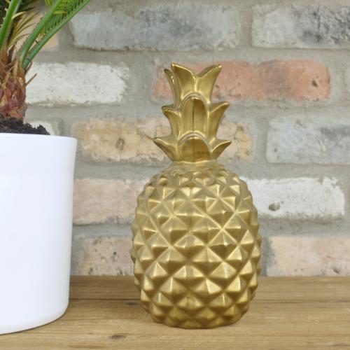 Golden Pineapple Ornament