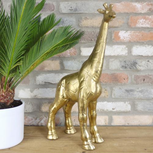 Gold Giraffe Ornament