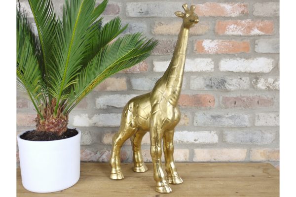 Gold Giraffe Ornament