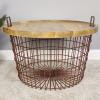Basket With Wood Lid