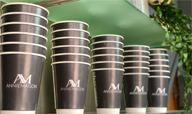 Annie Maison coffee cups