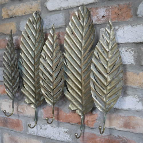 Leaves Coat Hooks