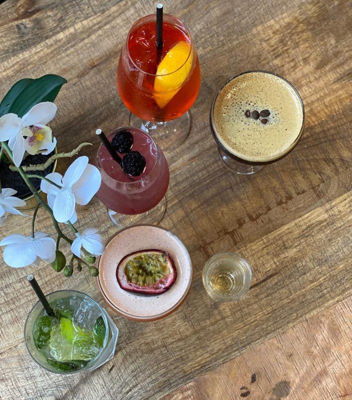 Annie Maison cocktails
