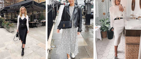 autumn skirts and dresses for brunch